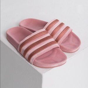 Adidas Adilette Women's velvet pink